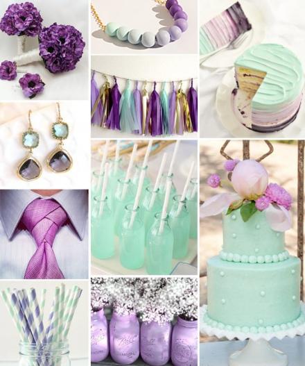Žalsvas purpuras
