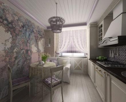 Prabangi, elegantiška virtuvė