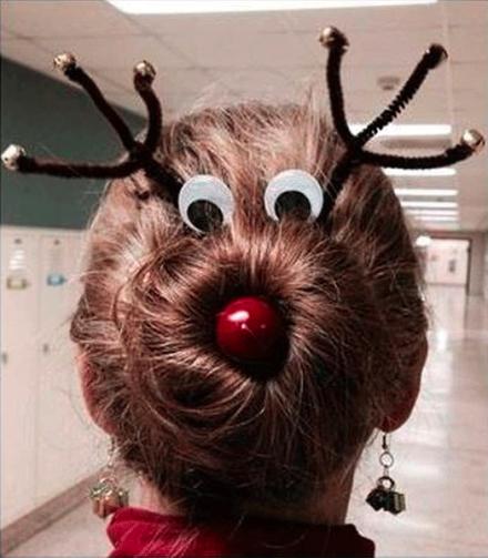 Kalėdinė šukuosena