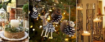Jaukios Kalėdų dekoracijos