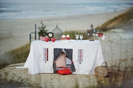 Staigmena mylimajai prie jūros