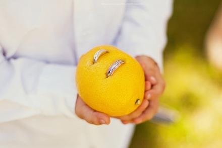 Žiedai ir citrina
