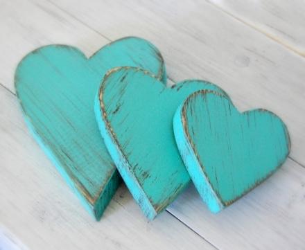 Medinės širdelės