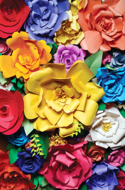 Popierinės gėlės