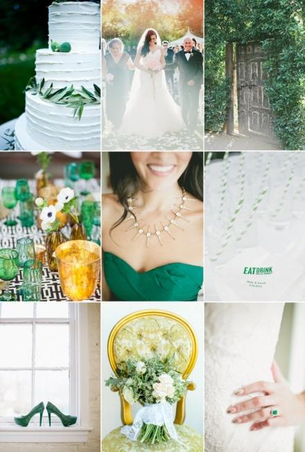 Žalių atspalvių norai