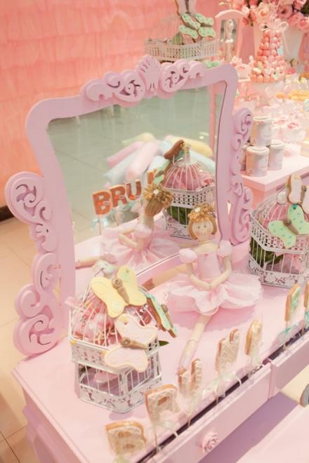 Rožinis dekoras