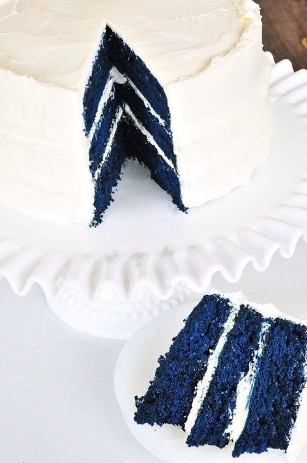 Mėlynių tortas