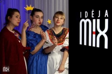 """""""Idėja MIX"""" foto būdelė. Klaipėdos muzikinis teatras."""